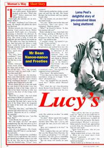 Lucy's Lesson Page 1 November 1996