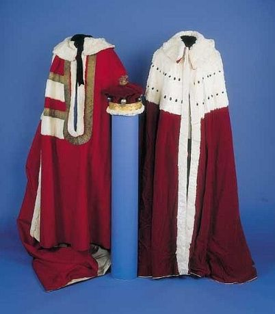 a-barons-parliament-robe-coronation-robe-and-coronet