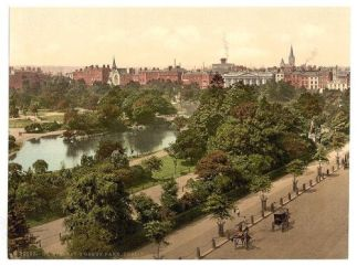 View of St Stephen's Green