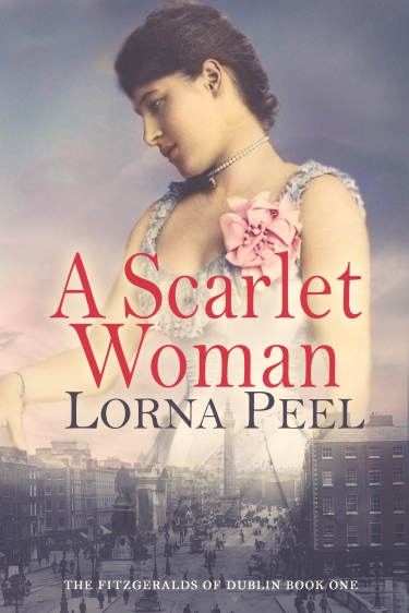 A Scarlet Woman by Lorna Peel eBook Cover