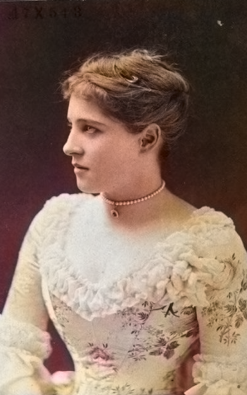 Lily Colourised