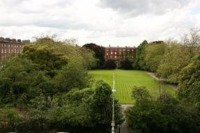 View over Fitzwilliam Square