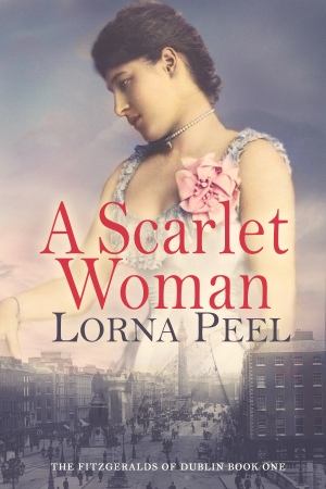 A Scarlet Woman by Lorna Peel eBook Cover
