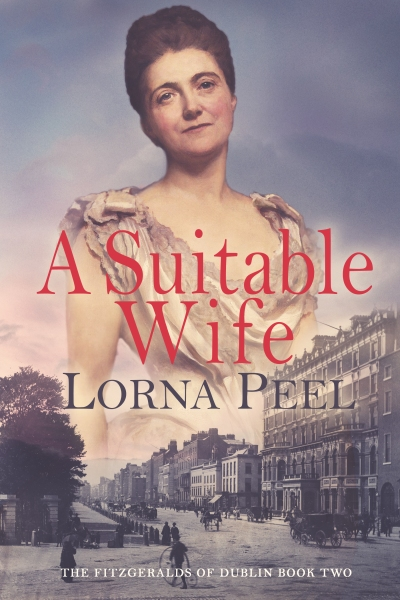 A Suitable Wife by Lorna Peel Kindle Cover